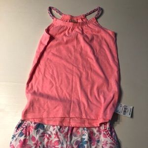 Girl's OshKosh Shorts and Tank New w/Tags
